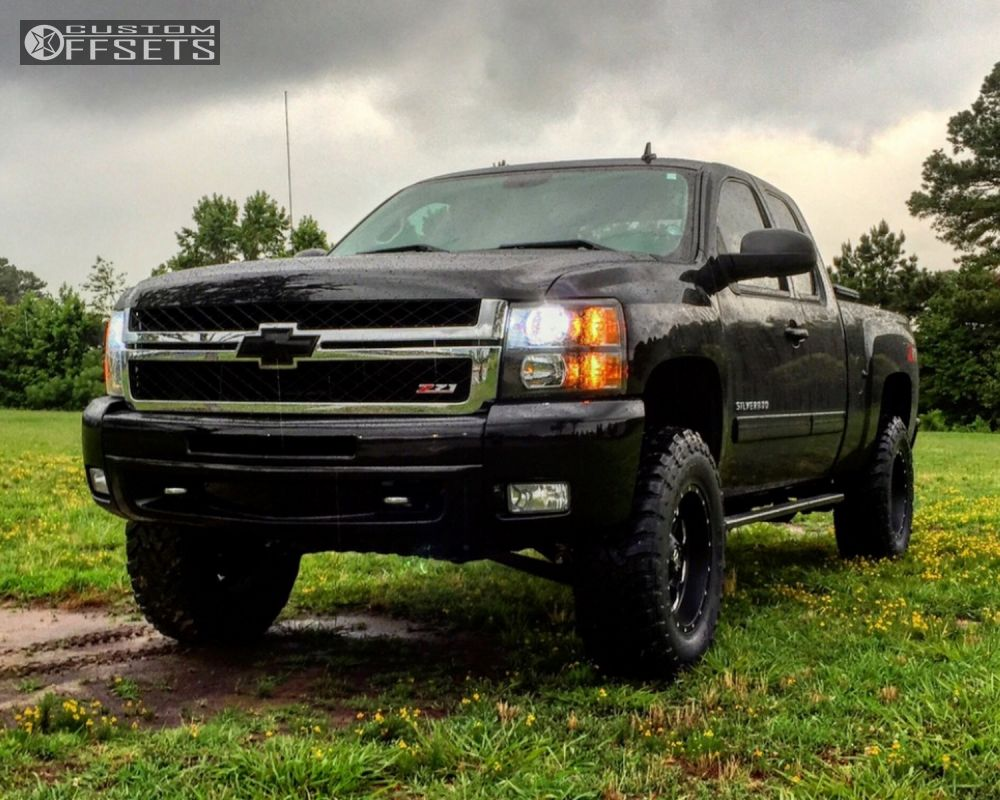 2012 Chevrolet Silverado 1500 Fuel Boost Rough Country Suspension ...