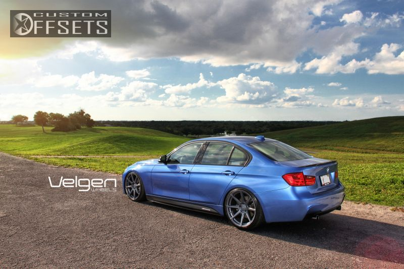 2013 Bmw 3 Series Velgen Vmb8 Lowered Adj Coil Overs