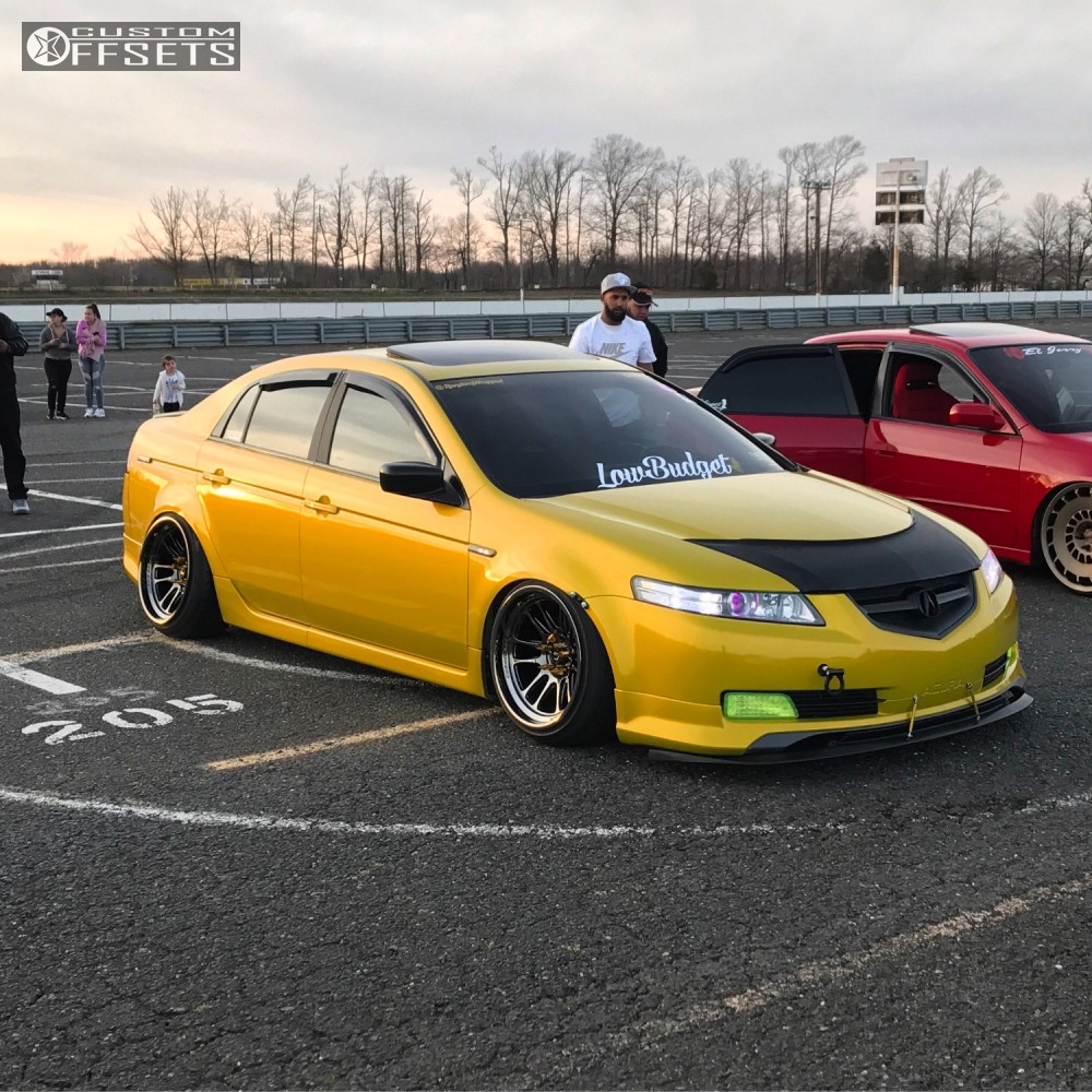 Wheel Offset 2004 Acura Tl Poke Coilovers