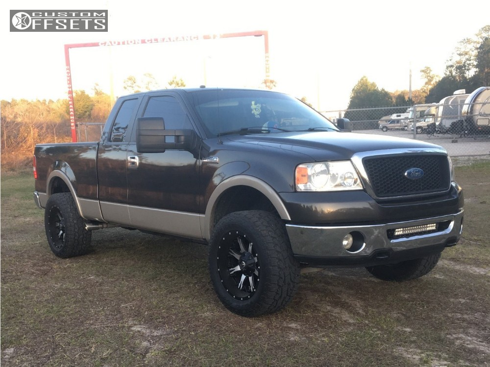 2007 Ford F 150 Fuel Nutz Rough Country Leveling Kit