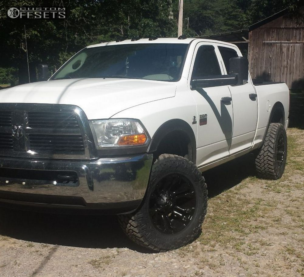 Rough Country 4wd Dodge Ram 2500 3500 Mega Cab 5 Lift: 2010 Dodge Ram 2500 Fuel Vapor Rough Country Leveling Kit