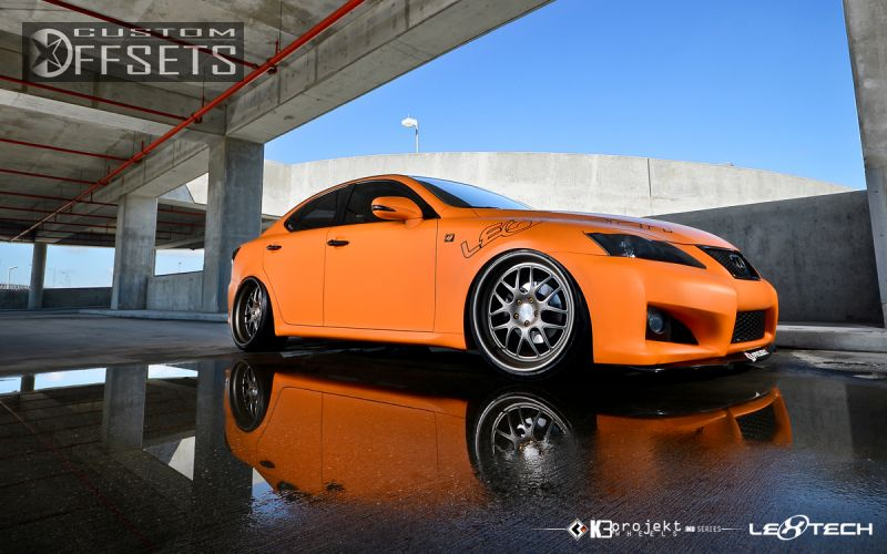Wheel Offset 2009 Lexus Is250 Hellaflush Lowered Adj Coil Overs