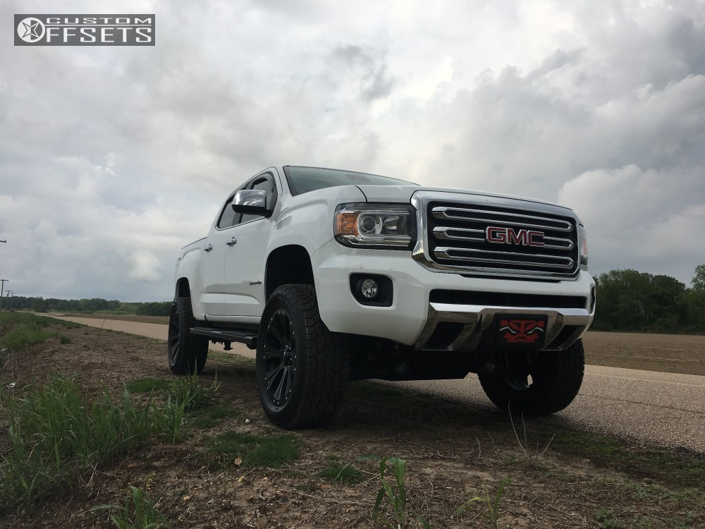 2016 gmc canyon helo he901 rough country suspension lift 4in. Black Bedroom Furniture Sets. Home Design Ideas