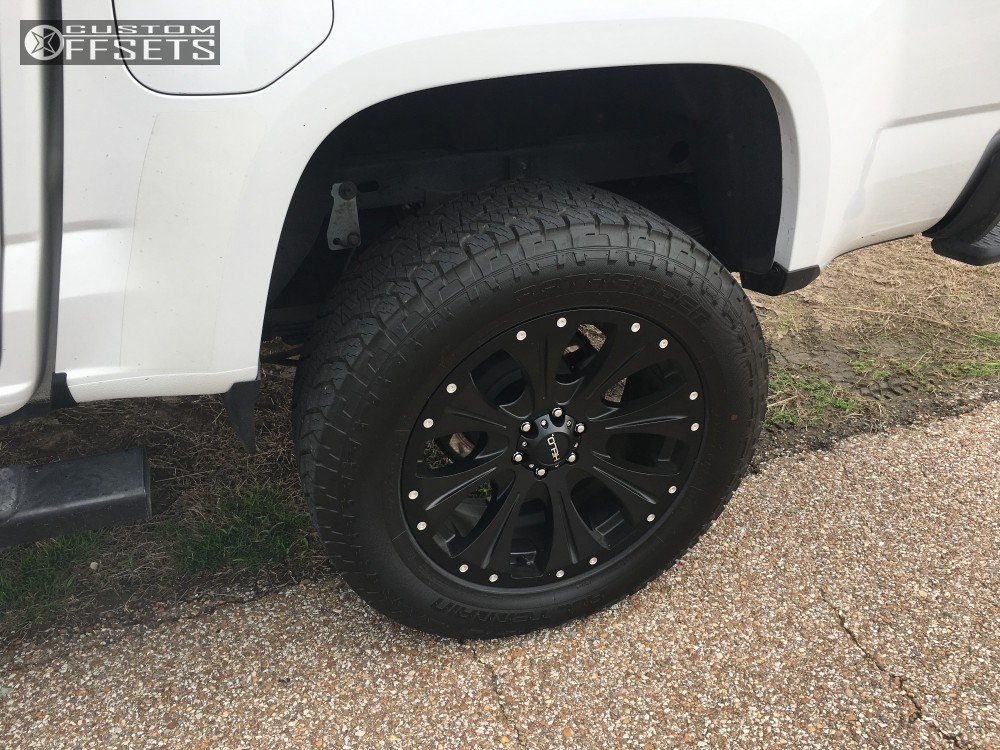 2016 Gmc Canyon Helo He901 Rough Country Suspension Lift 4in