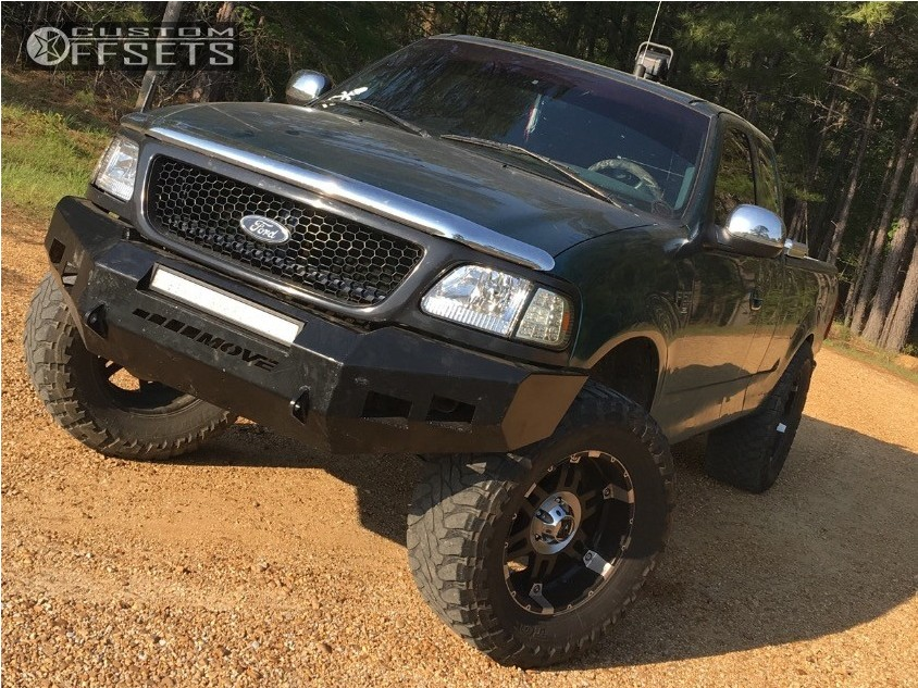Ford Suspension Lift  Xd Spy Machined Accents Hella Stance