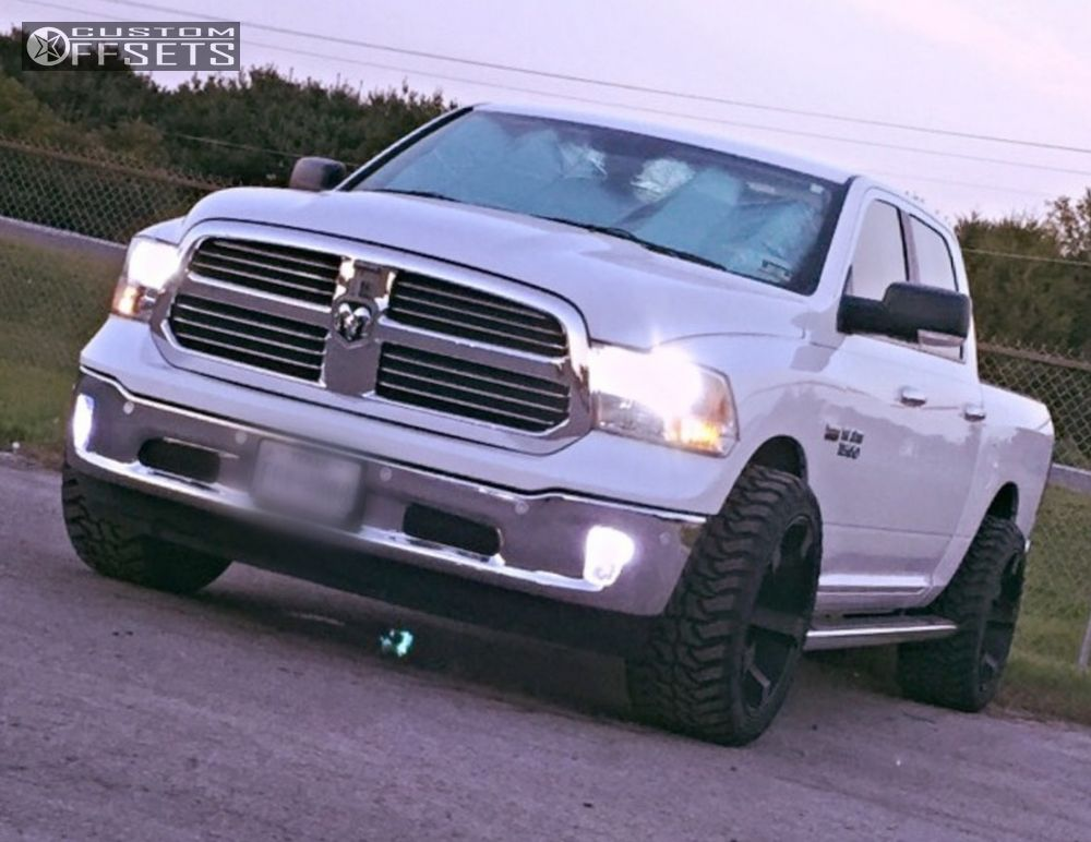 40 Ram 40 Xd Rockstar Ii Oem Stock Interesting 2014 Ram 1500 Bolt Pattern