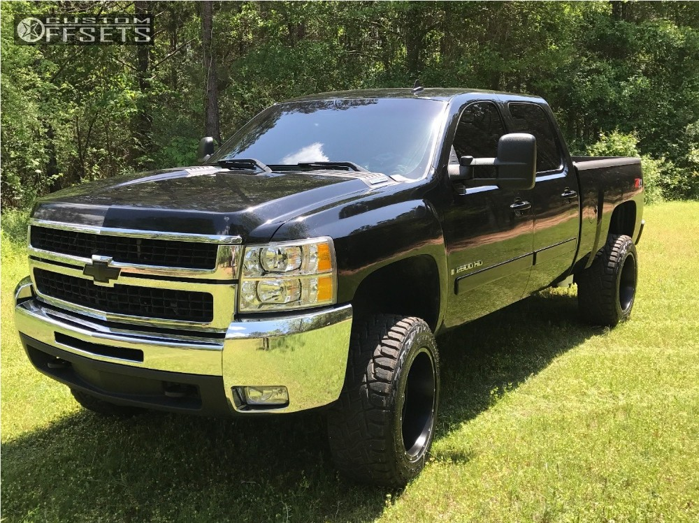 1 2008 Silverado 2500 Hd Chevrolet Leveling Kit Hostile Stryker Black Aggressive 1 Outside Fender