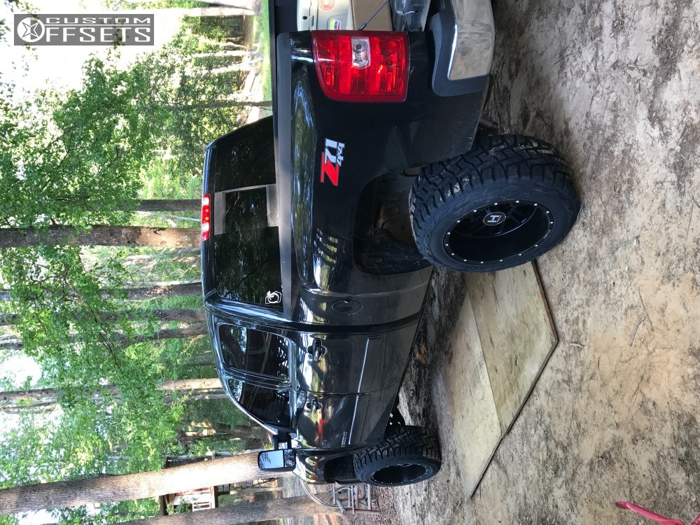 3 2008 Silverado 2500 Hd Chevrolet Leveling Kit Hostile Stryker Black Aggressive 1 Outside Fender