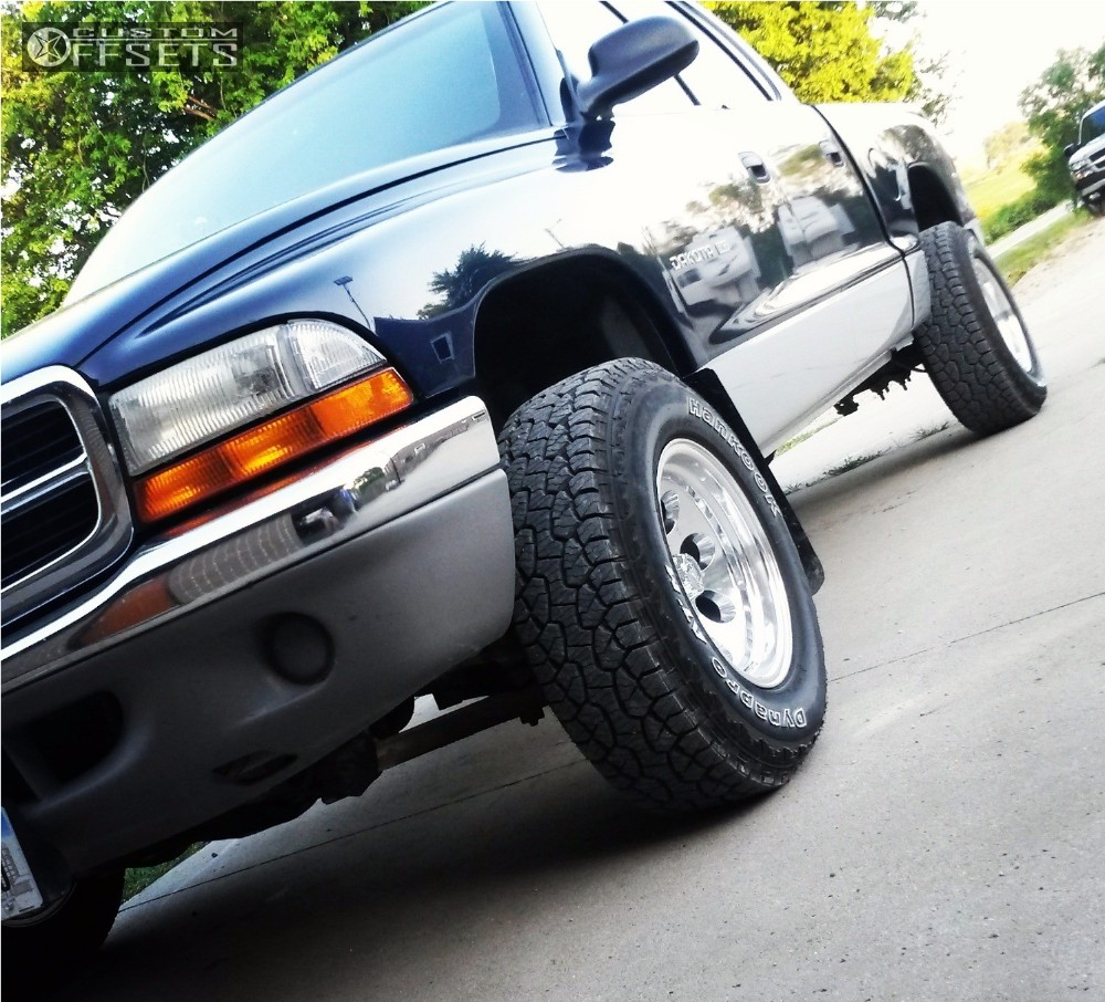 1 2001 Dakota Dodge Stock Alloy Ion Style 171 Polished Aggressive 1 Outside Fender