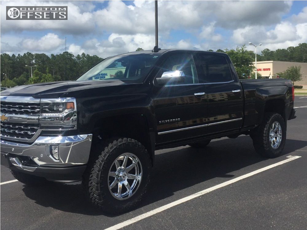 1 2016 Silverado 1500 Chevrolet Suspension Lift 6 Hostile Alpha Chrome Slightly Aggressive