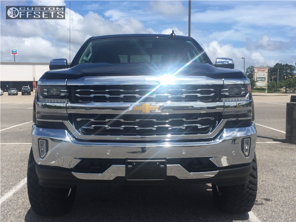 2 2016 Silverado 1500 Chevrolet Suspension Lift 6 Hostile Alpha Chrome Slightly Aggressive