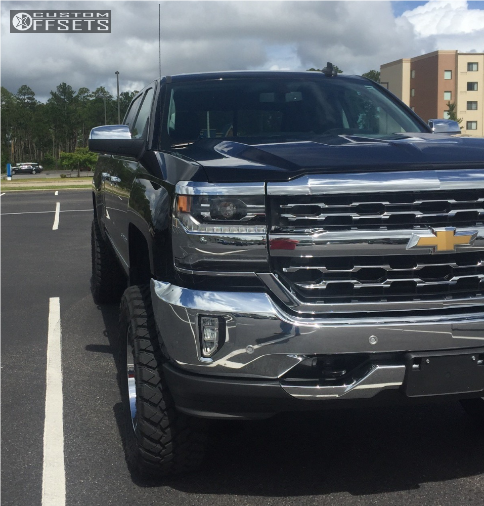 4 2016 Silverado 1500 Chevrolet Suspension Lift 6 Hostile Alpha Chrome Slightly Aggressive