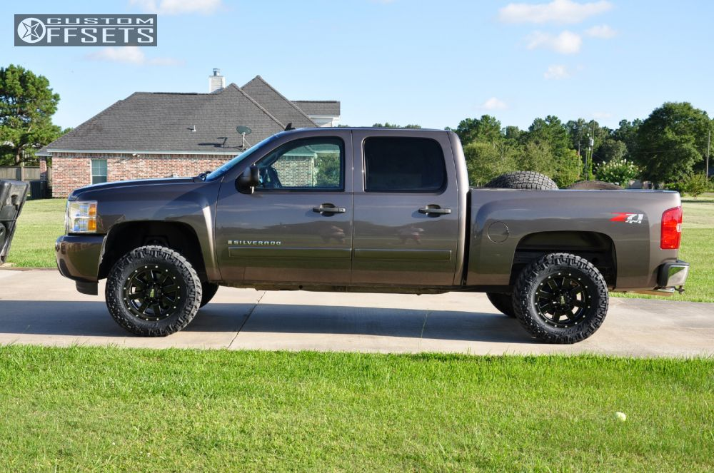 Silverado 3.5 Lift >> 2008 Chevrolet Silverado 1500 Moto Metal Mo962 Rough Country Suspension Lift 35in