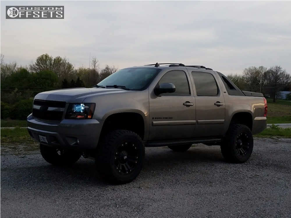 2008 chevrolet avalanche xd xd778 mcgaughys suspension. Black Bedroom Furniture Sets. Home Design Ideas