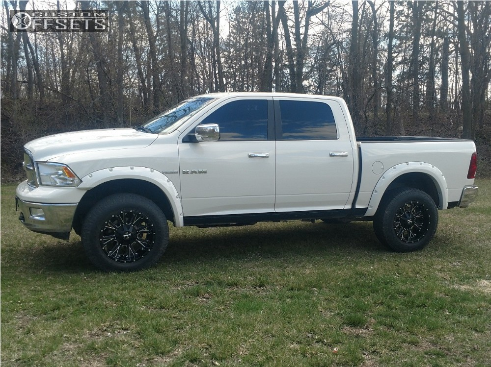 2009 Dodge Ram 1500 Cali Offroad Americana Rough Country Leveling