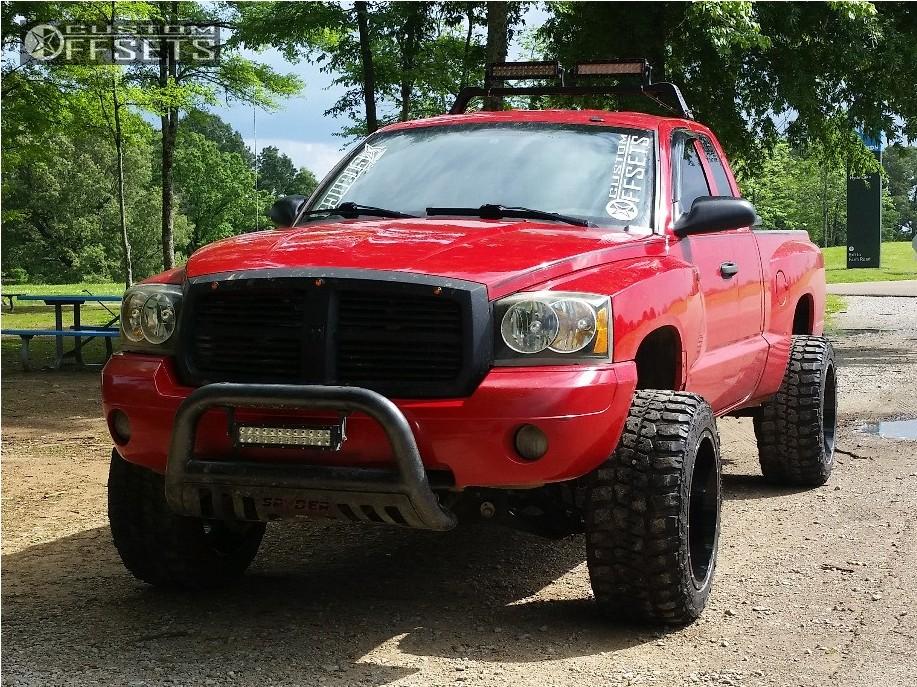 Dakota Dodge Leveling Kit Body Lift Monster Energy Bm Machined Black Super Aggressive on 06 Dodge Dakota Headlights