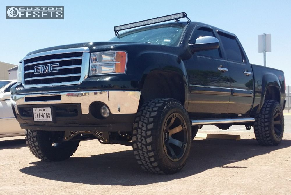 2012 gmc sierra 1500 fuel beast mcgaughys suspension lift 8in. Black Bedroom Furniture Sets. Home Design Ideas