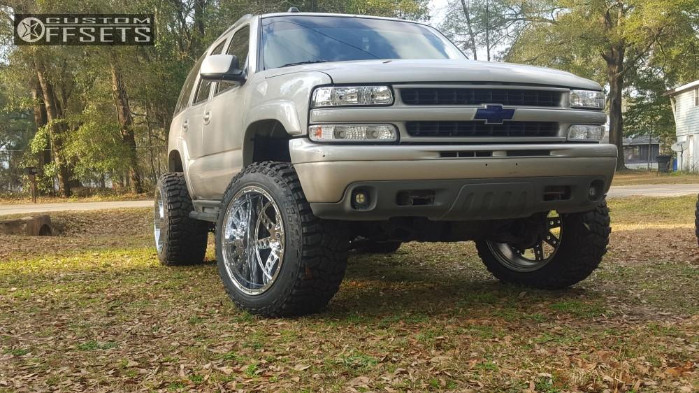 2004 Chevrolet Tahoe Xd Diesel Custom Body Lift 3in Custom ...