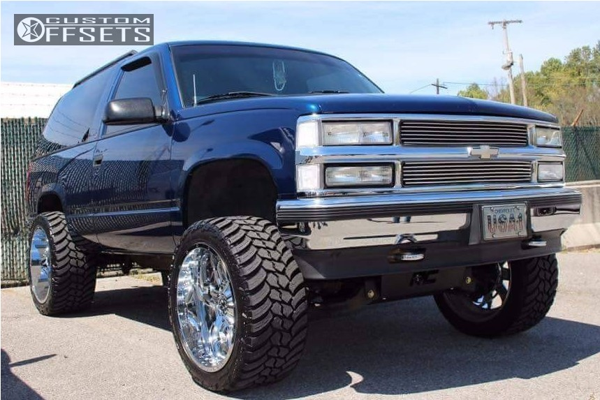 Lifted 2002 Tahoe >> 1999 Chevrolet Tahoe Tis 535c Rough Country Suspension Lift 6in