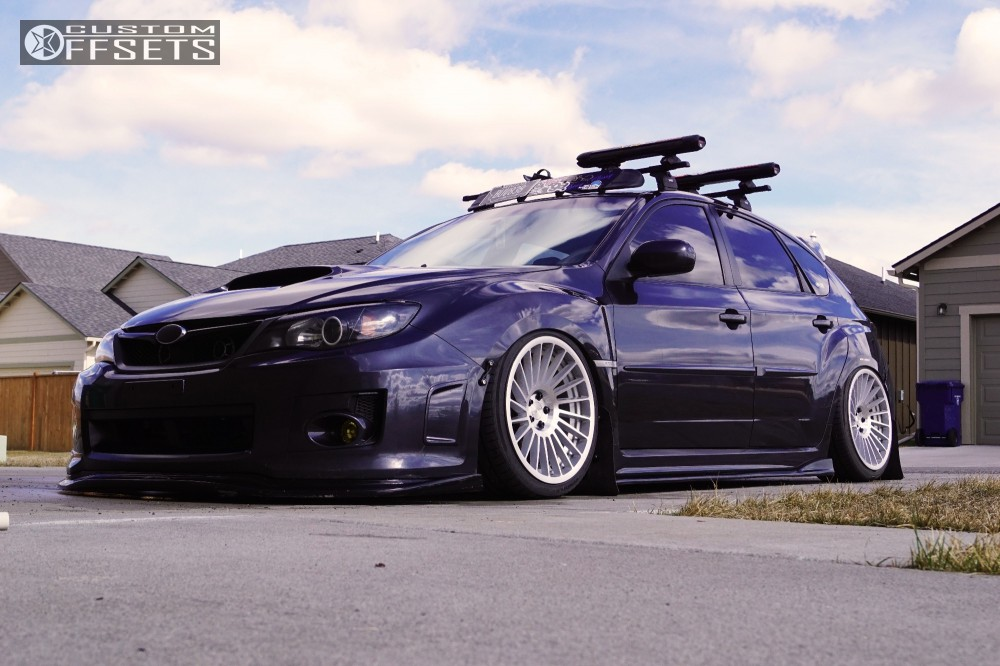 Subaru Financing Deals >> 2011 Subaru Impreza Rotiform Ind T Accuair Bagged Custom Offsets
