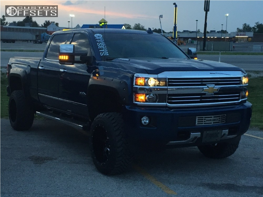 2016 chevrolet silverado 2500 hd gear alloy 726 rough country suspension lift 35in. Black Bedroom Furniture Sets. Home Design Ideas