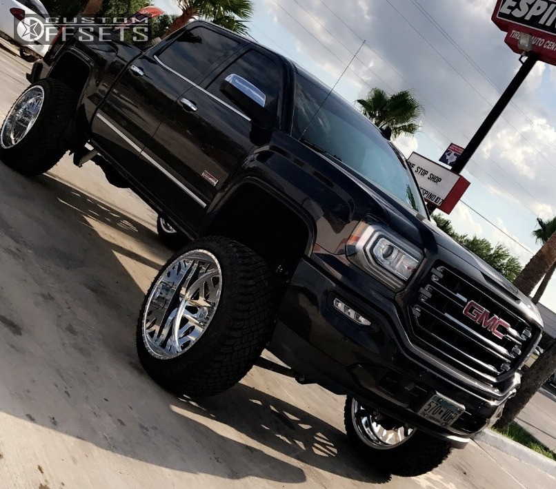 Lifted Gmc Sierra >> 2016 Gmc Sierra 1500 American Force Evo Ss Mcgauphys ...