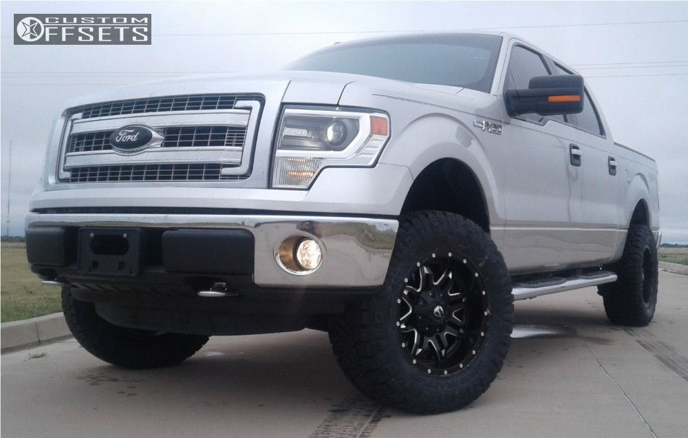 2014 Ford F 150 Fuel Lethal Motofab Leveling Kit Custom ...