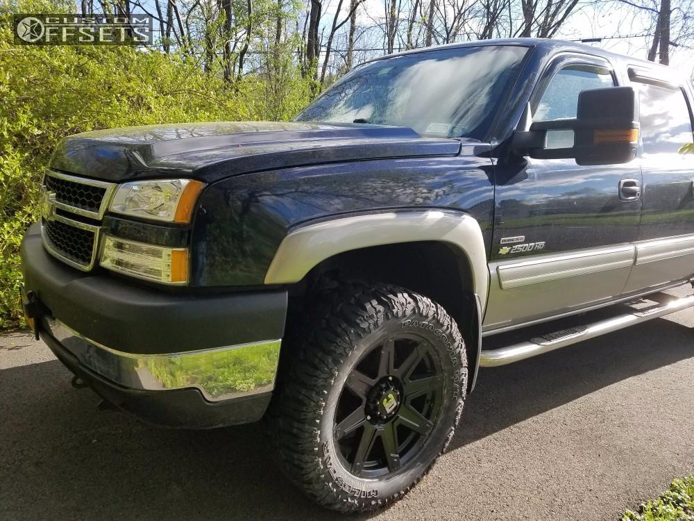 2006 Chevrolet Silverado 2500 Hd Dick Cepek Terrain Stock Stock Custom Offsets-6870