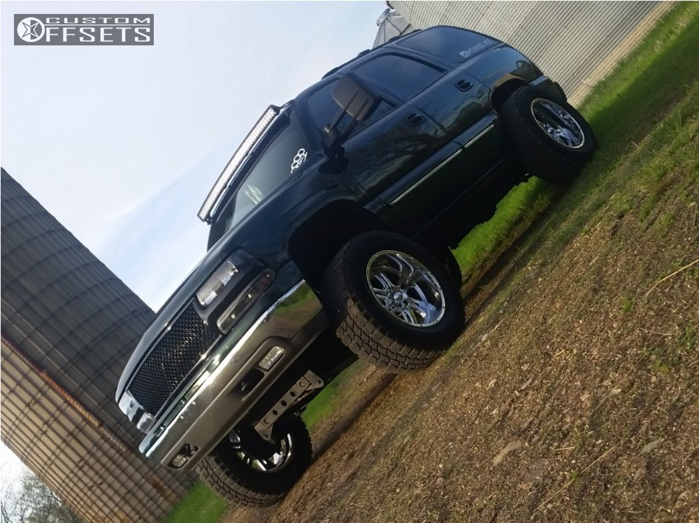 15 2001 Tahoe Chevrolet Suspension Lift 5 Ultra Predator Chrome Super Aggressive 3 5