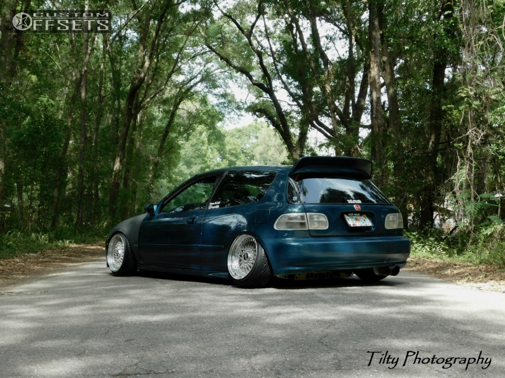 1995 Honda Civic Bbs Super Rs Skunk2 Coilovers