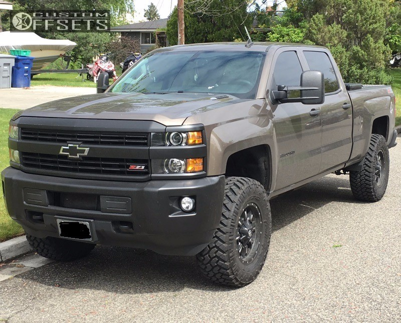 2016 chevy 3500 leveling kit