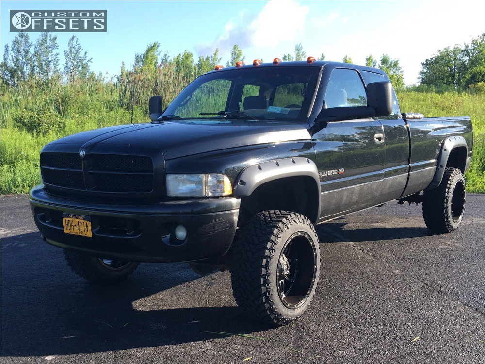 1996 Dodge Ram 2500 Fuel Hostage Rough Country Leveling Kit