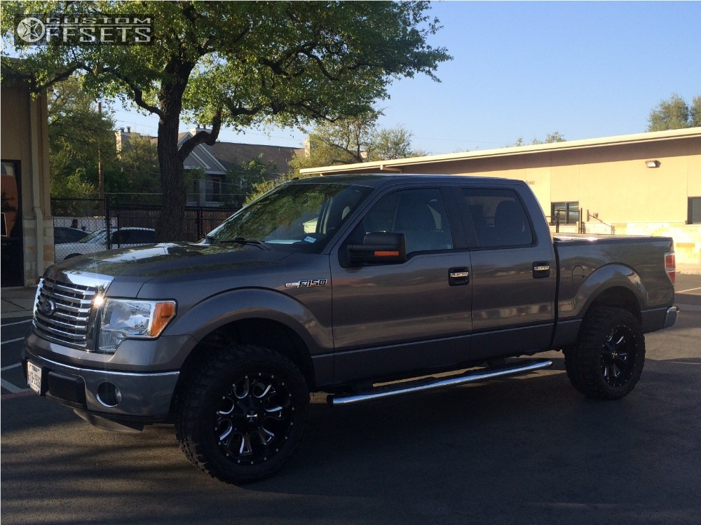 2011 Ford F 150 Cali Offroad Anarchy Stock Leveling Kit