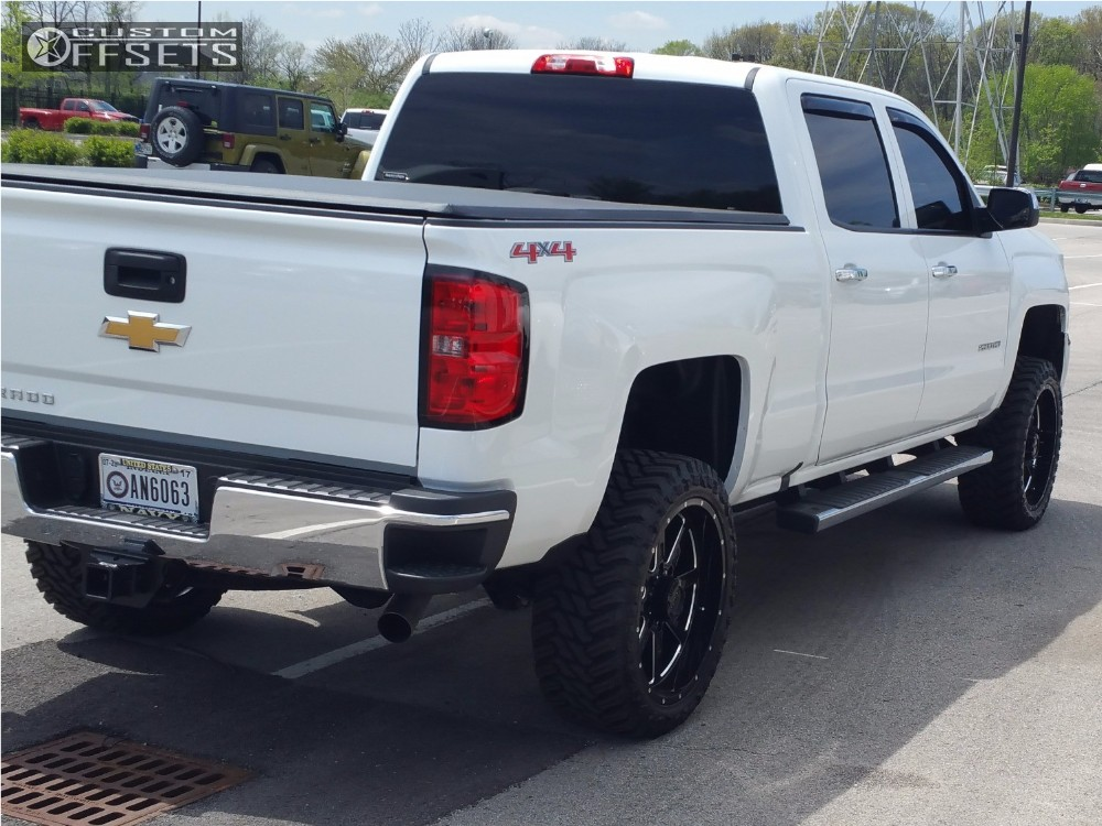 2016 chevrolet silverado 2500 hd tuff t15 rough country leveling kit. Black Bedroom Furniture Sets. Home Design Ideas