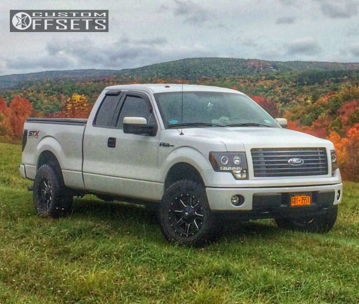 Leveling Kit For Ford F150: 2014 Ford F 150 Fuel Maverick Air Lift Performance