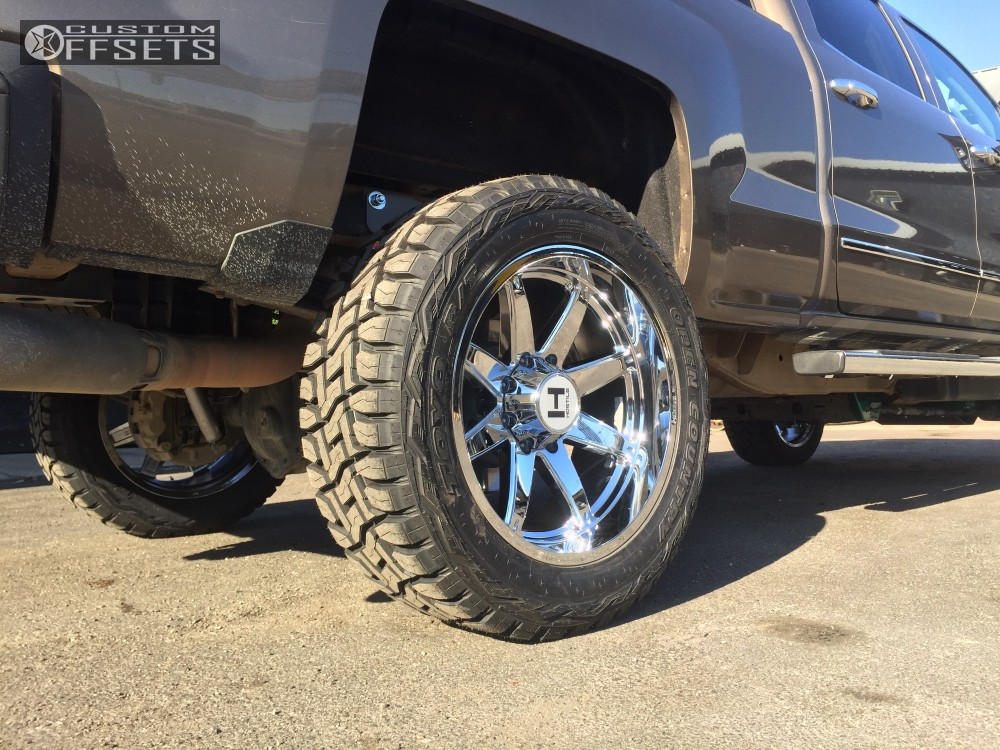 11 2015 Silverado 2500 Hd Chevrolet Suspension Lift 5 Hostile Alpha Chrome Super Aggressive 3 5