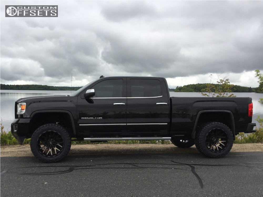 2015 gmc sierra 2500 hd v rock recoil cognito leveling kit. Black Bedroom Furniture Sets. Home Design Ideas