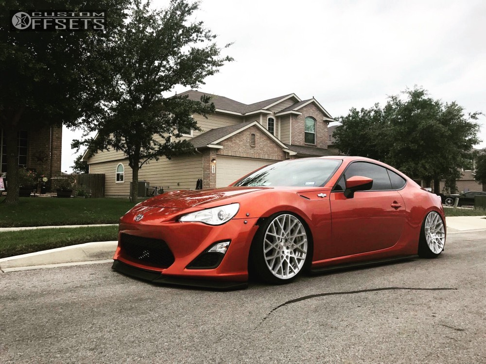 2014 scion fr s rotiform blq air lift performance bagged. Black Bedroom Furniture Sets. Home Design Ideas