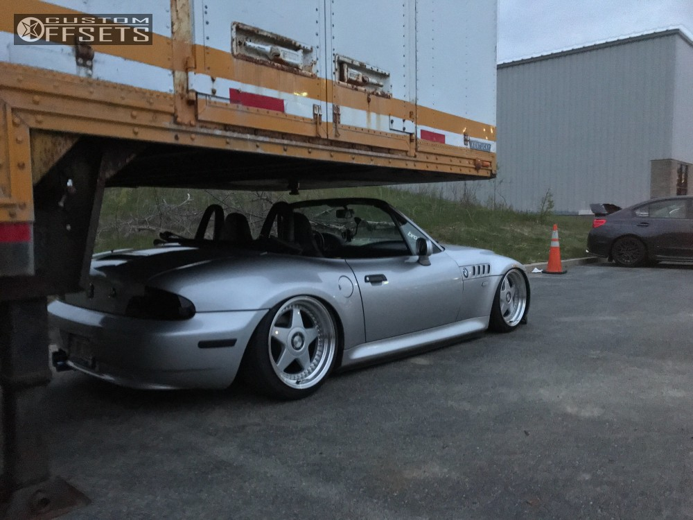 Wheel Offset 2000 Bmw Z3 Flush Bagged