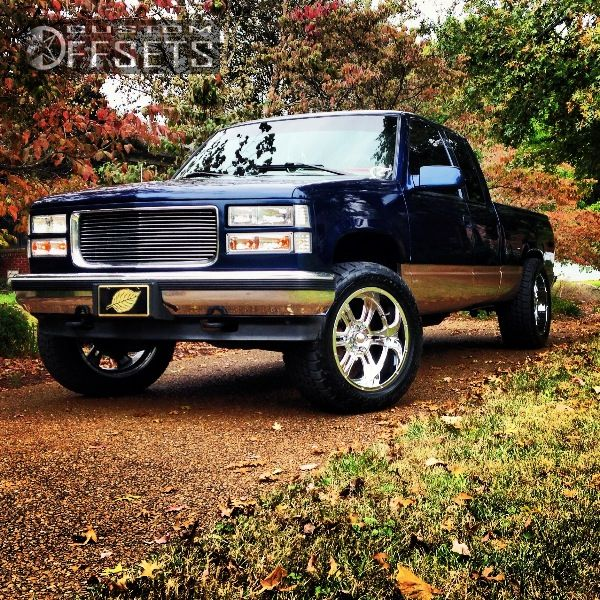 Wheel Offset 1995 Gmc Sierra 1500 Slightly Aggressive
