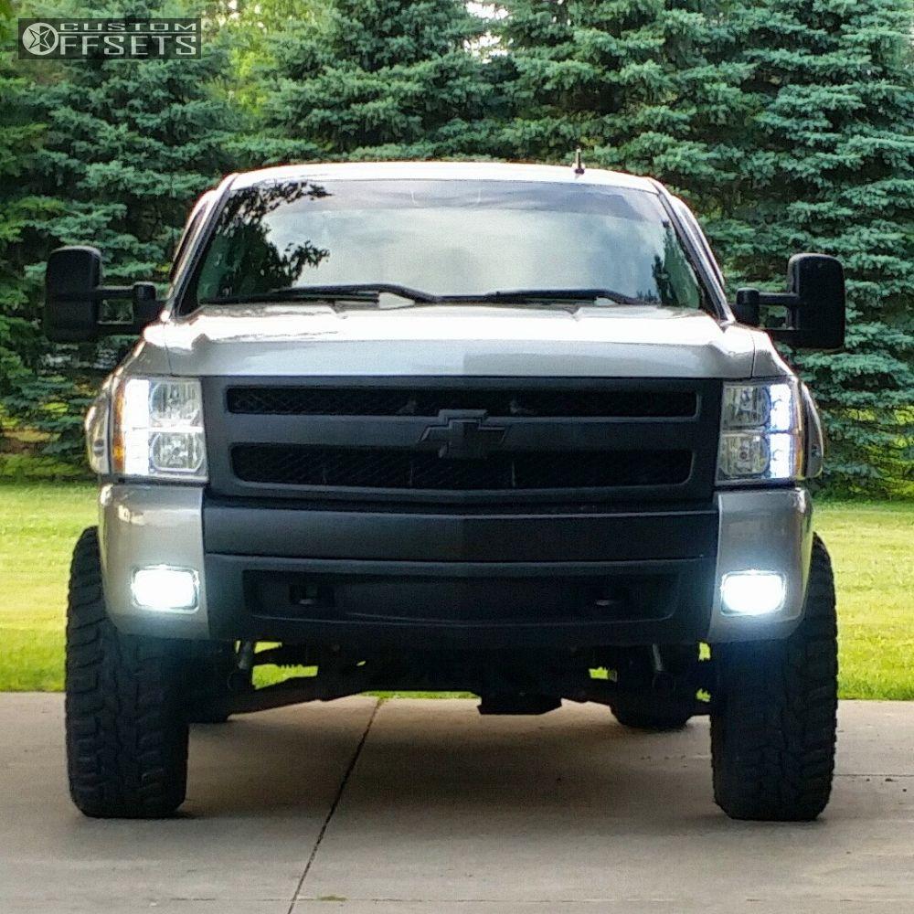 2008 Chevrolet Silverado 1500 Fuel Lethal Rough Country