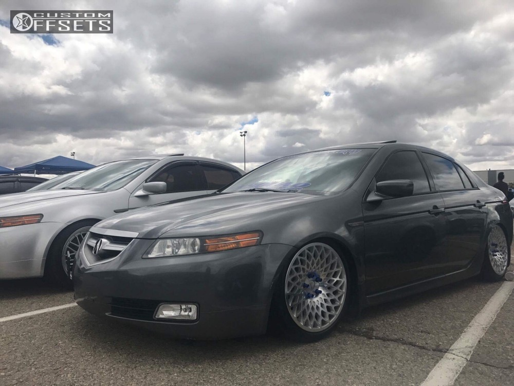 Wheel Offset Acura Tl Tucked Coilovers - 2005 acura tl wheel size