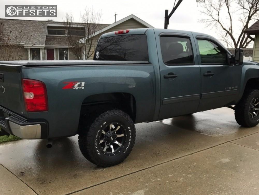 Chevy Silverado Custom Wheels >> Chevy Silverado 1500 Leveling Kit Pictures   Autos Post