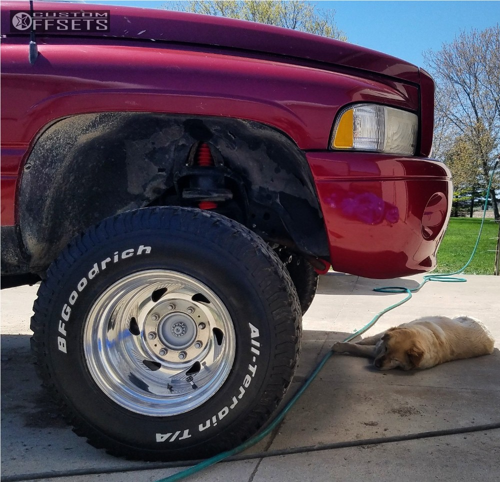 1996 Dodge Ram 2500 Weld Racing Roadhawk Mix Of Brands