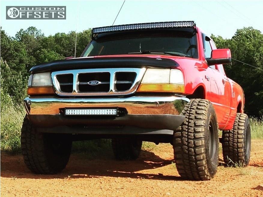 1 2000 ranger ford suspension lift 4 pro comp 01 matte black aggressive 1 outside fender