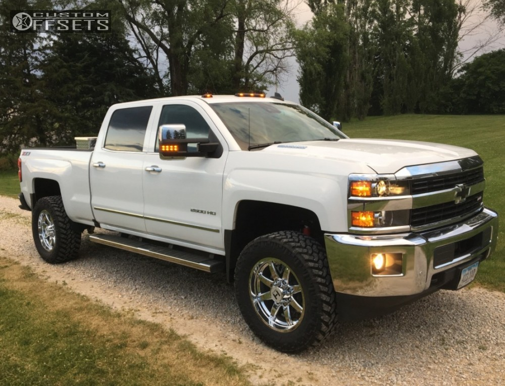1 2016 Silverado 2500 Chevrolet Stock Hostile Alpha Chrome Slightly Aggressive