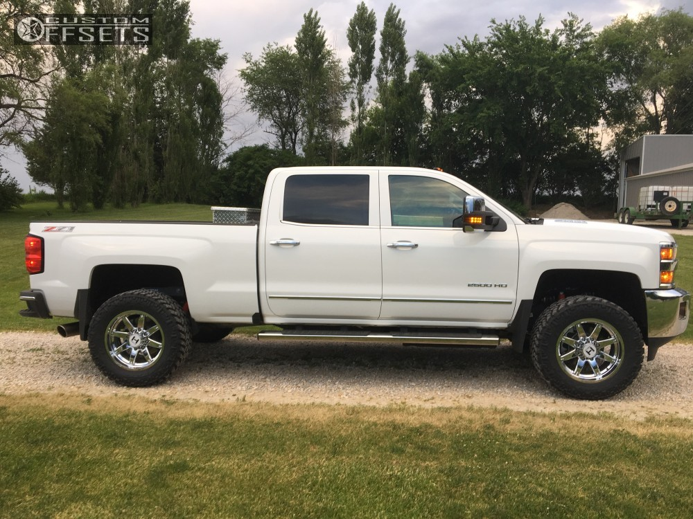 12 2016 Silverado 2500 Chevrolet Stock Hostile Alpha Chrome Slightly Aggressive