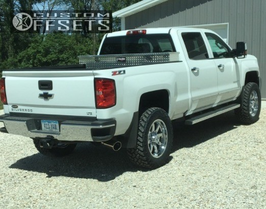 13 2016 Silverado 2500 Chevrolet Stock Hostile Alpha Chrome Slightly Aggressive