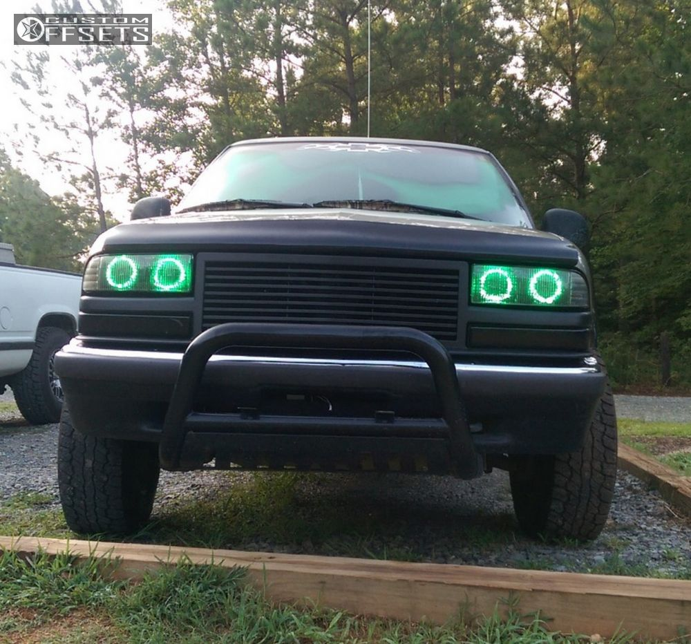 2 1998 S10 Chevrolet Leveling Kit Vision D Window Black Slightly Aggressive