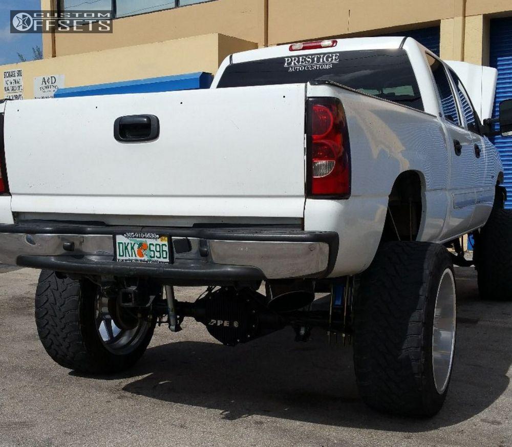 2005 Chevrolet Silverado 2500 Hd Regular Cab Suspension: Wheel Offset 2005 Chevrolet Silverado 2500 Hd Hella Stance